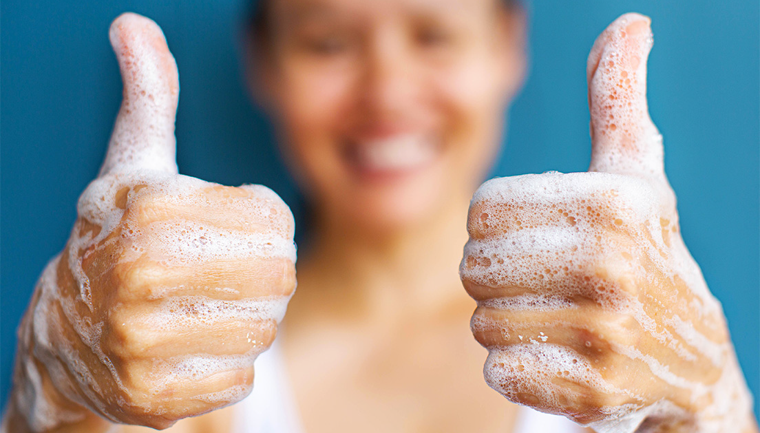 Global Handwashing Day - Thumbs Up!
